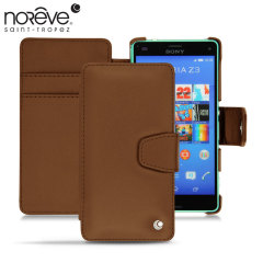 Noreve Tradition B Sony Xperia Z3 Compact Leather Case - Marron