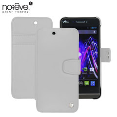 Noreve Tradition B Wiko Wax Leather Wallet Case - White