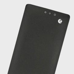 Noreve Tradition BlackBerry KeyONE Premium Leather Flip Case