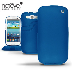 Noreve Tradition D Leather Case for Samsung Galaxy S3 - Blue