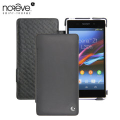 Noreve Tradition D Leather Case for Sony Xperia Z1 - Black