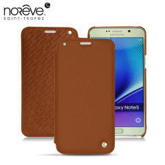 Noreve Tradition D Samsung Galaxy Note 5 Leather Case - Brown
