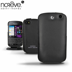 Noreve Tradition Leather Case for BlackBerry Q10 - Black