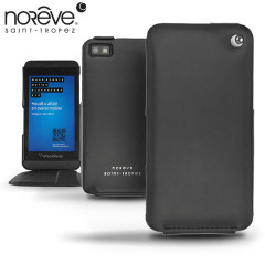 Noreve Tradition Leather Case for BlackBerry Z10 - Black