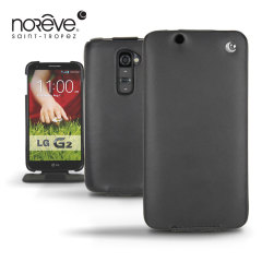 Noreve Tradition Leather Case for LG G2 - Black