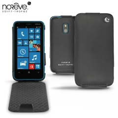 Noreve Tradition Leather Case for Nokia Lumia 620 - Black