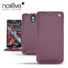 Noreve Tradition Leather Case For Samsung Galaxy Note 3 - Purple
