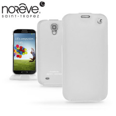 Noreve Tradition Leather Case for Samsung Galaxy S4 - White