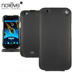 Noreve Tradition Leather Case for Wiko Darkside - Black