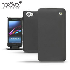 Noreve Tradition Leather Case for Xperia Z1 Compact - Black