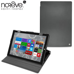 Noreve Tradition Microsoft Surface Pro 3 Leather Case - Black