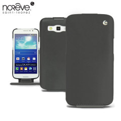 Noreve Tradition Samsung Galaxy Grand 2 Leather Case - Black