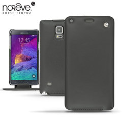 Noreve Tradition Samsung Galaxy Note 4 Leather Case - Black
