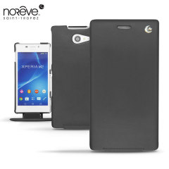 Noreve Tradition Sony Xperia M2 Leather Case - Black