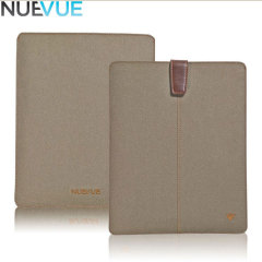 NueVue Cotton Twill iPad Air 2 / Air Cleaning Case - Khaki