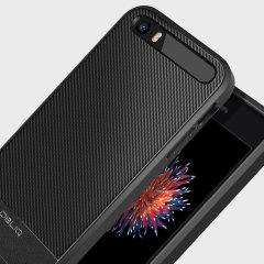 Obliq Flex Pro iPhone SE Case - Carbon Black
