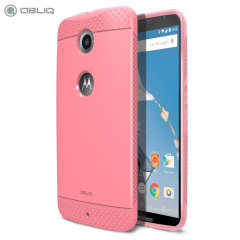 Obliq Flex Pro Nexus 6 Case - Pink