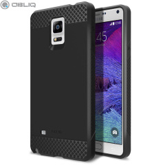 Obliq Flex Pro Samsung Galaxy Note 4 Case - Black