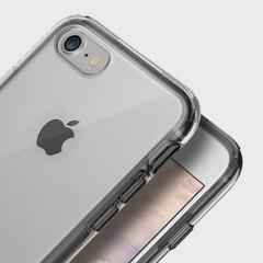 Obliq Naked Shield iPhone 7 Kickstand Case - Smoke Black