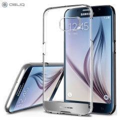 Obliq Naked Shield Samsung Galaxy S6 Case - Clear / Silver