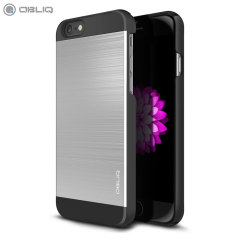 Obliq Slim Meta II Series iPhone 6S / 6 Case - Black / Silver