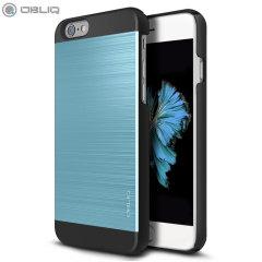 Obliq Slim Meta II Series iPhone 6S Plus / 6 Plus Case - Black / Blue