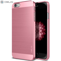 Obliq Slim Meta iPhone 6S Plus / 6 Plus Case - Metallic Pink
