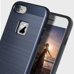 Obliq Slim Meta iPhone 7 Case - Deep Blue