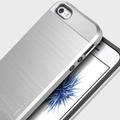 Obliq Slim Meta iPhone SE Case - Silver