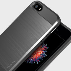 Obliq Slim Meta iPhone SE Case - Titanium Silver