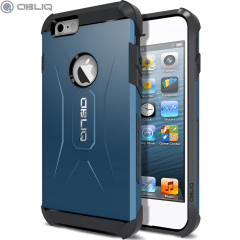 Obliq Xtreme Pro iPhone 6 Dual Layered Tough Case - Blue