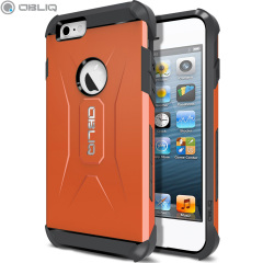 Obliq Xtreme Pro iPhone 6 Dual Layered Tough Case - Orange