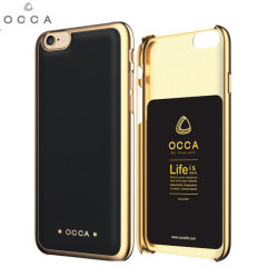 Occa Absolute Premium Leather iPhone 6S / 6 Shell Case - Black