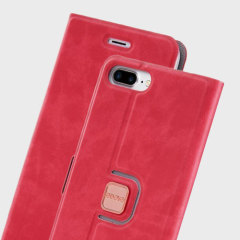 Odoyo Spin Folio iPhone 7 Plus Case - Cherry Pink