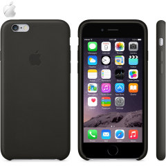 Official Apple iPhone 6 Leather Case - Black