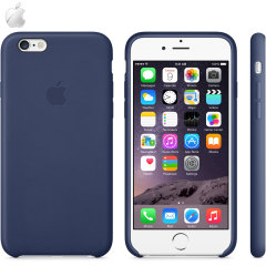 Official Apple iPhone 6 Leather Case - Midnight Blue