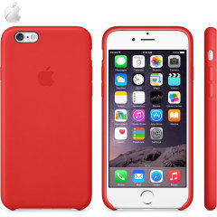 Official Apple iPhone 6 Leather Case - Red
