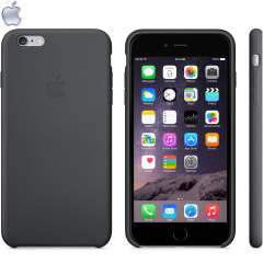 Official Apple iPhone 6 Plus Silicone Case - Black