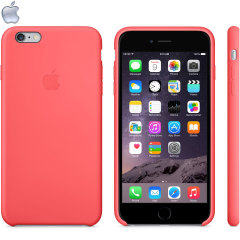Official Apple iPhone 6 Plus Silicone Case - Pink