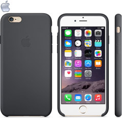 Official Apple iPhone 6 Silicone Case - Black
