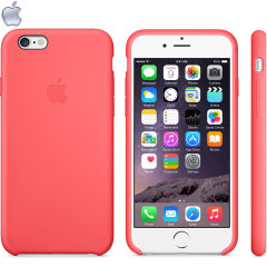 Official Apple iPhone 6 Silicone Case - Pink