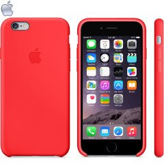 Official Apple iPhone 6 Silicone Case - Red
