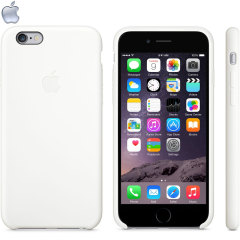 Official Apple iPhone 6 Silicone Case - White