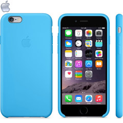 Official Apple iPhone 6S / 6 Silicone Case - Blue