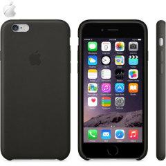 Official Apple iPhone 6S Plus / 6 Plus Leather Case - Black