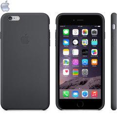 Official Apple iPhone 6S Plus / 6 Plus Silicone Case - Black