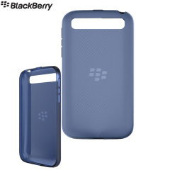 Official BlackBerry Classic Soft Shell Case - Blue Translucent