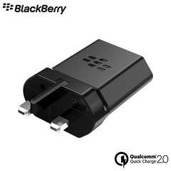Official BlackBerry RC-1500 UK Mains Qualcomm 2.0 Rapid Charger