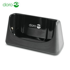 Official Doro Liberto 820 Charging Cradle Dock - Black