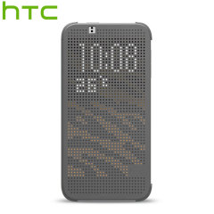 Official HTC Desire 510 Dot View Case - Grey